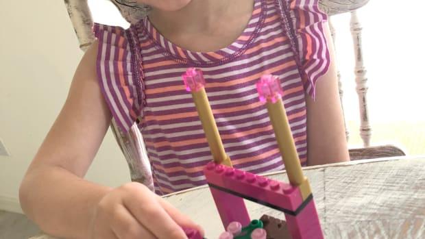 building princess legos