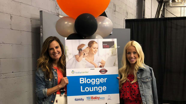 New York Baby Show Blogger Lounge