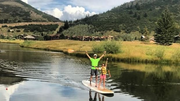 summer family trip park city utah