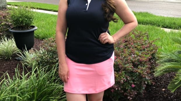 stylish women's golf apparel