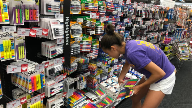 Starting a New School Year with Staples