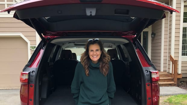 Testing the latest SUVs Chevy Traverse Mom Road Test