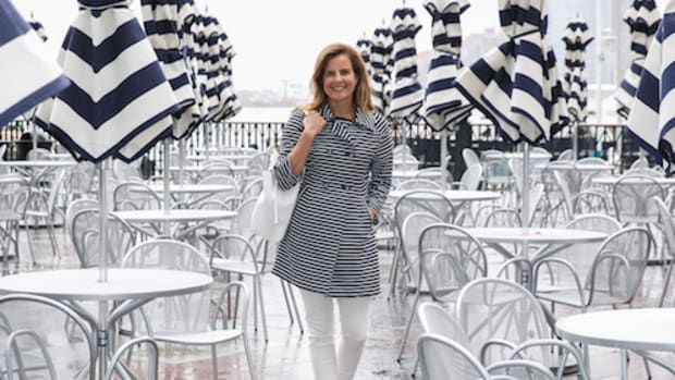Wear Spring Stripes and Navy