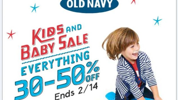 Old Navy Kids & Baby Sale