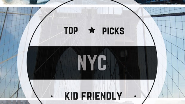 As a local New Yorker, I'm asked all the time for my TOP 3 THINGS TO DO WITH KIDS IN NYC. This is tough, but if I had to pick these are my three-go-to options.