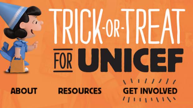 unicef trick or treat