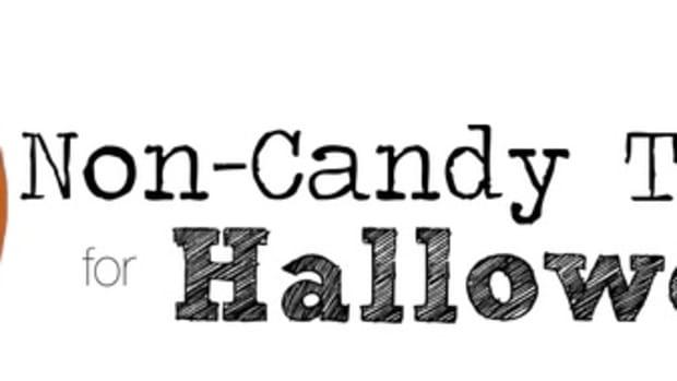 Non-Candy Treats header