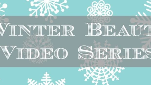 winter beauty video series