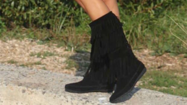 fringe shoe trend