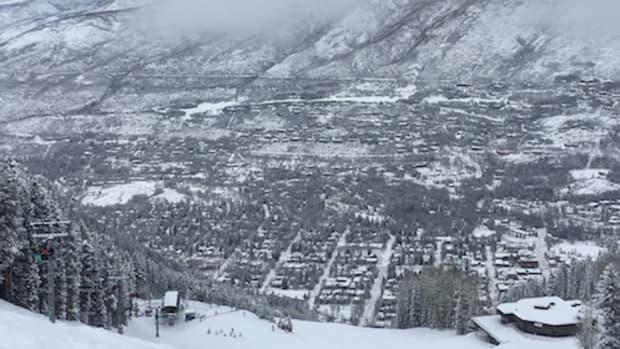 ski aspen banner