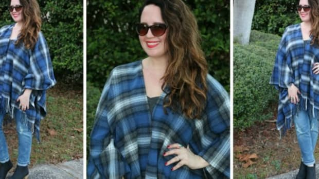 plaid looks