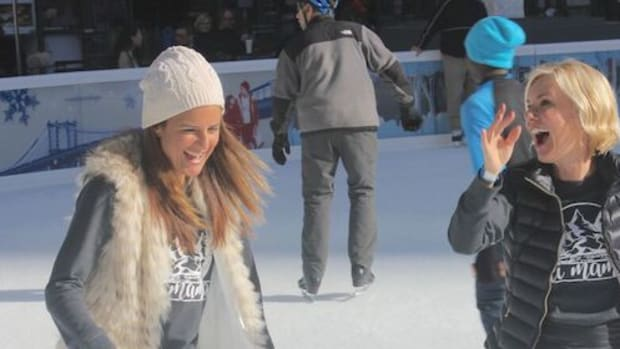 Ski Moms on Ice