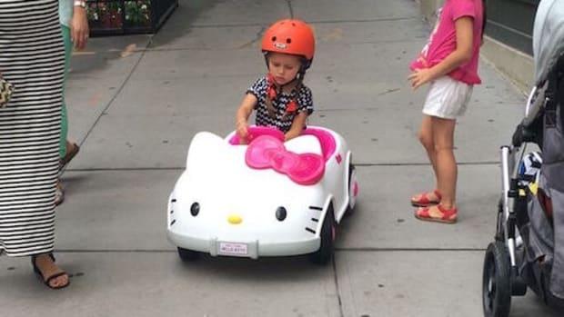 Road Test Hello Kitty Car