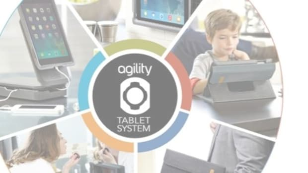 Agility tablet system header