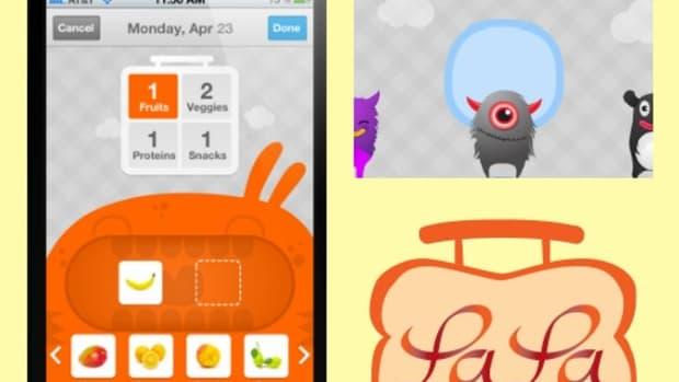 New La La Lunchbox App