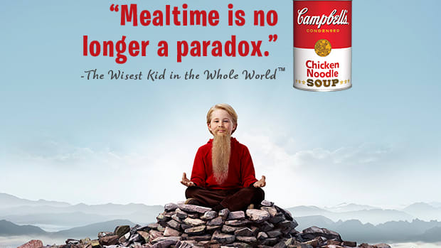 campbell's soup, red and white can, soup for kids, wisest kid, healthy kid meals, food trends for kids