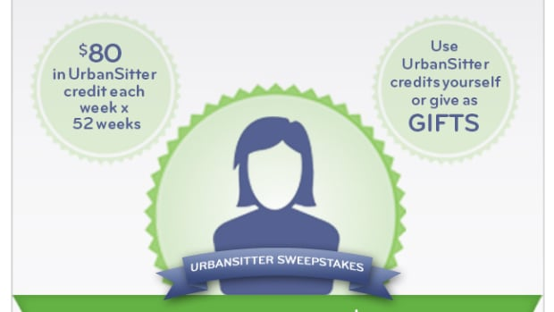 Win a Year of FREE babysitting, UrbanSitter