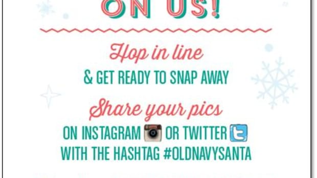 #OldNavySanta In-Store Event