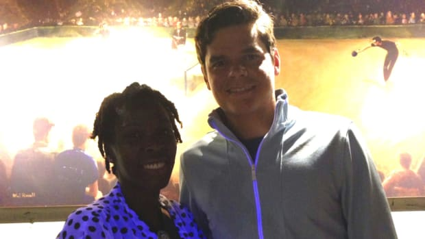 Milos Raonic talks to Momtrends