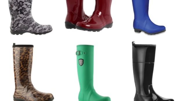 Rainy Day CHic, rain boots