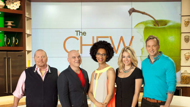 the chew, talk tv, recipes, food, fun shows, daphne oz, clinton kelly, celebrity chefs Mario Batali, Michael Symon, and Carla Hall, lifestyle expert