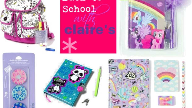 back to school, school accessories, school shopping, claire's boutiques, school supplies, students, cute gear for girls, locker decorations