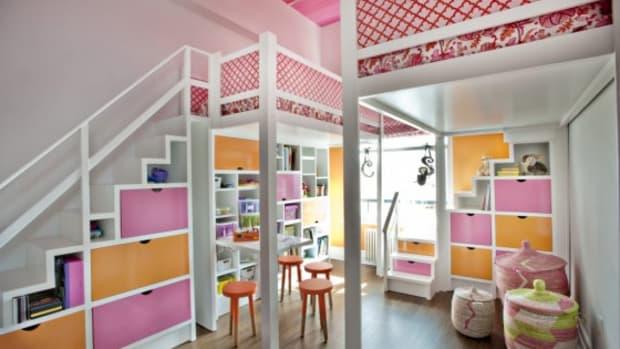 pink-and-orange-lofted-girls-room-e1368203524727