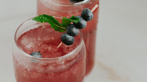 Blueberry Mint Spritzer Photo
