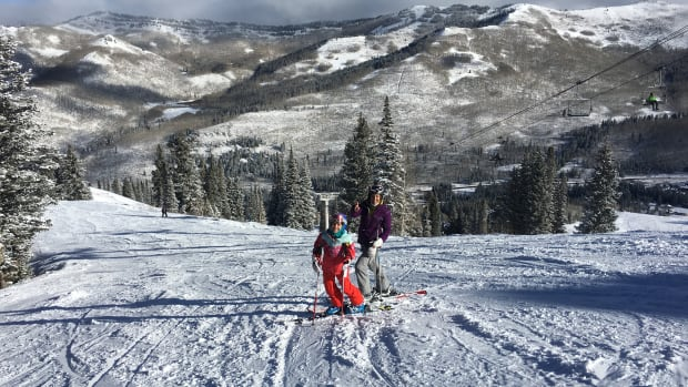 Family Ski Trip to Solitude Mountain