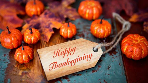 Happy Thanksgiving Our Gratitude List