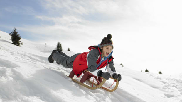 Winter Safety Guidelines for Sledding