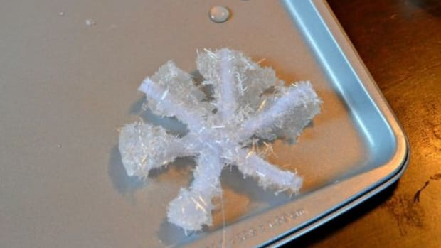 Science for Kids: Grow Crystal Snowflakes