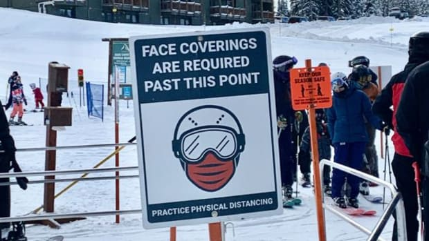 COVID Safety On the Slopes