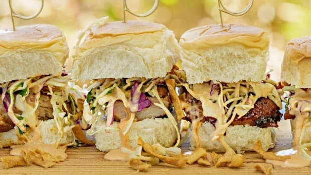 Yummy Dijon BBQ Sliders Recipe