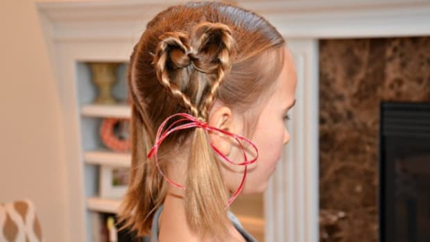 Hearts Everywhere! Valentine's Day Hair Tutorial