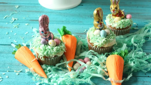 The Most Delicious Easter Carrot Cupcake Recipe