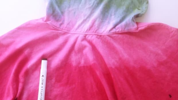 Dip-Dye Watermelon Dress DIY