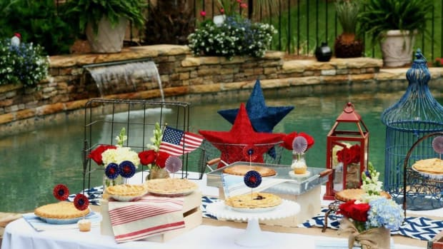 Throw a Rustic 4th of July Family Party