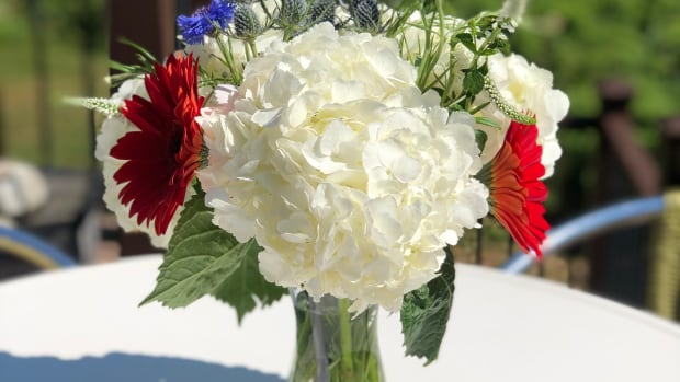 DIY 4th of July Flower Bouquet