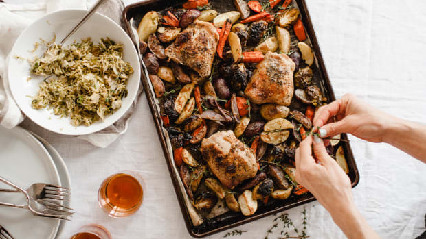 Roasted Sheet Pan Chicken and Veggies