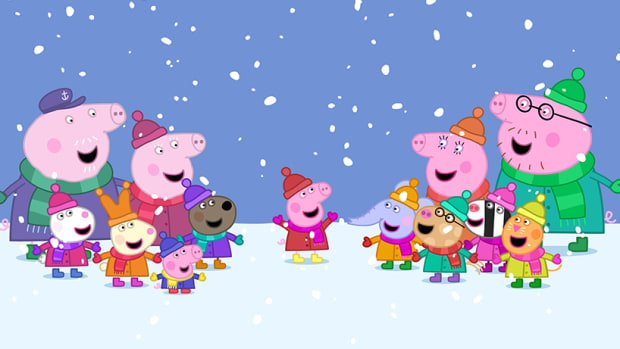 Candlewick Press Presents Peppa Pig for the Holidays