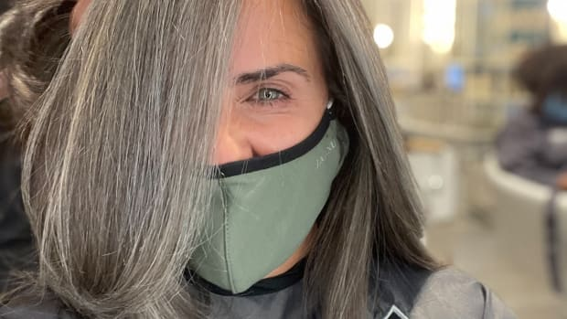 How Do You Know When To Stop Coloring Gray Hair