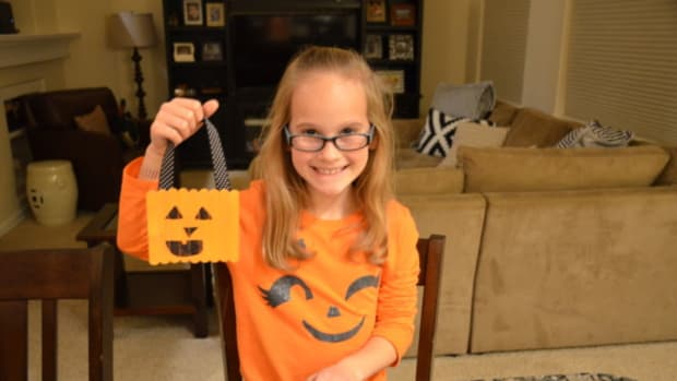 Halloween Crafting Spookley the Square Pumpkin