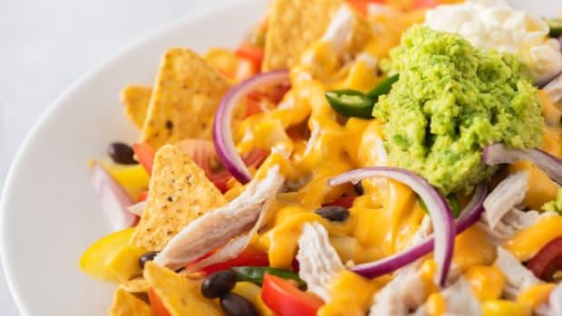 Cheesy Chicken Nacho Recipe