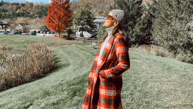 How to Style a Blanket Coat for Fall