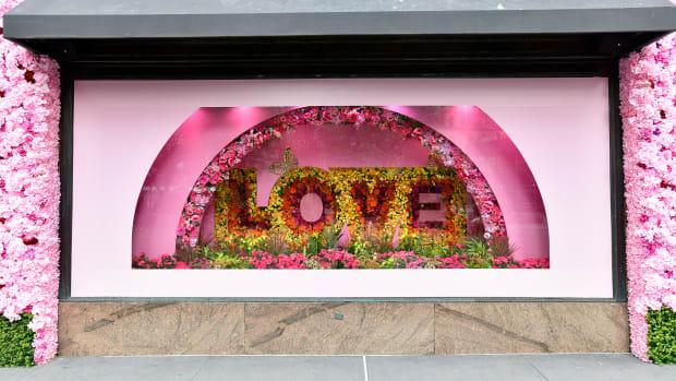Macy's Flower Show in NYC