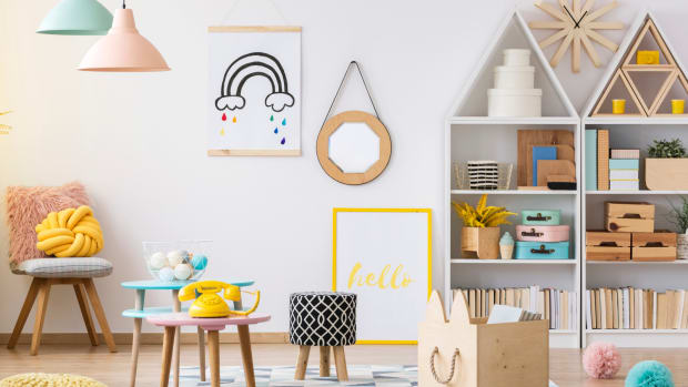 Clever Storage Solutions for Children's Items