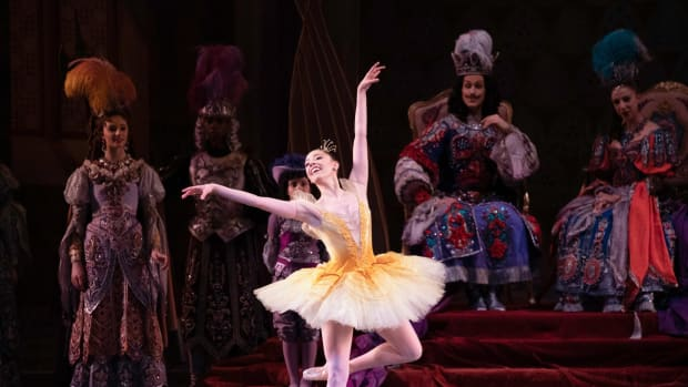A Visit to the New York City Ballet