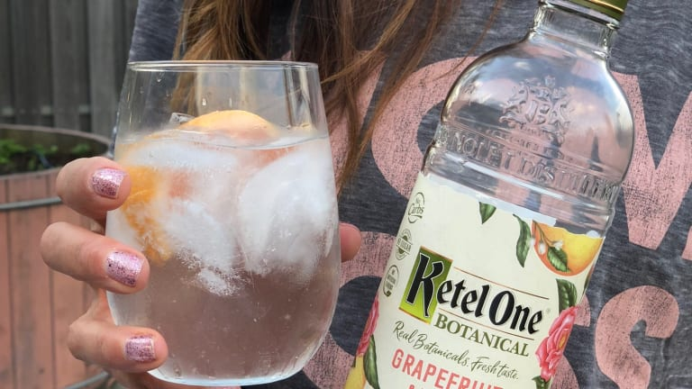 You'll Be Making This Grapefruit & Rose Spritz All Summer Long