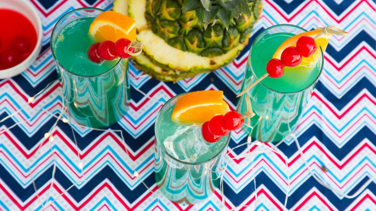 Blue Heat Wave: The Perfect Independence Day Cocktail